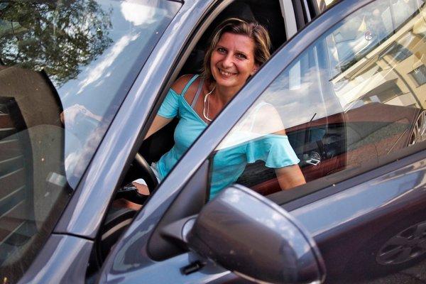 Ingrid Hrvoľová, taxikárka