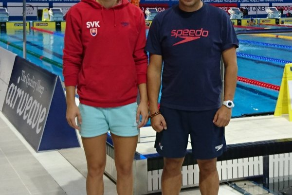 Andrea Podmaníková a tréner Vladimír Železník sa zúčastnili Svetového pohára v Dohe.