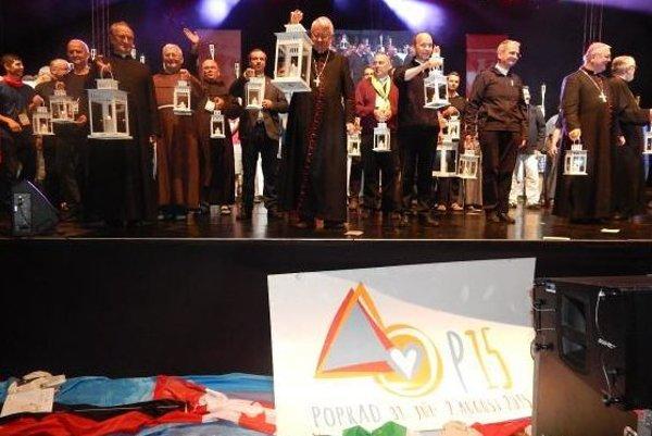 Momentka z Krakowa. Konali sa tam posledné Svetové dni mládeže.