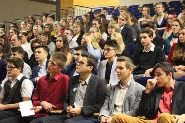 Otvorenie medzinárodnej študentskej konferencie.