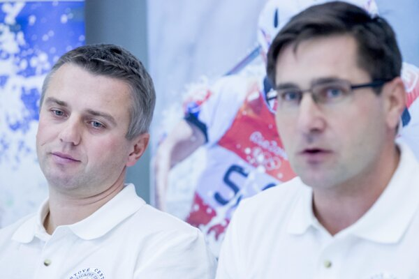 Pavel Ostrovský (vľavo) s Jurajom Minčíkom.