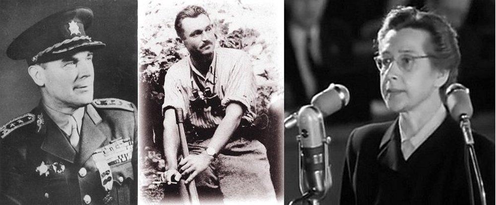 Generál Heliodor Píka, partizánsky veliteľ Viliam Žingor a poslankyňa Milada Horáková. Najznámejšie obete komunistických vykonštruovaných procesov. Tie napokon