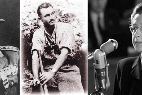 """Generál Heliodor Píka, partizánsky veliteľ Viliam Žingor a poslankyňa Milada Horáková. Najznámejšie obete komunistických vykonštruovaných procesov. Tie napokon """"zomleli"""" aj komunistu Slánskeho."""