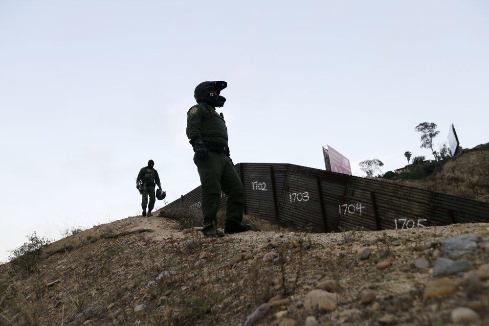 Pohraničná hliadka. FOTO – SITA/AP