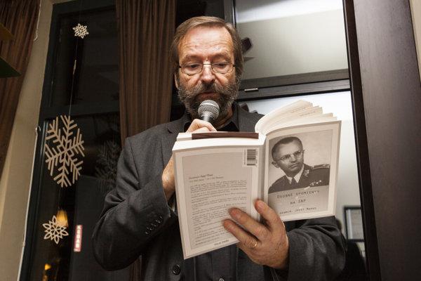 Na podujatie príde aj herec a recitátor Jozef Šimonovič.