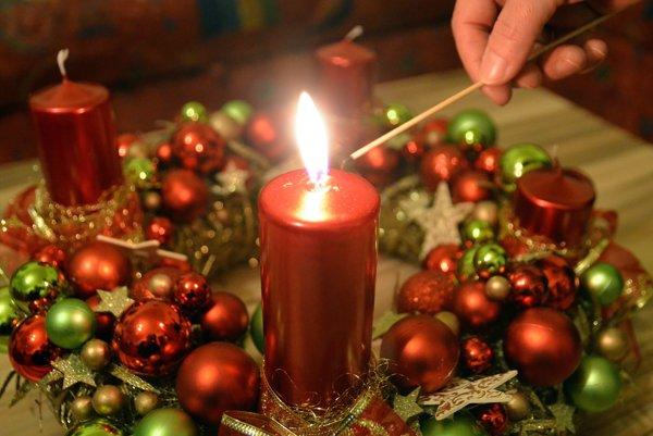 Túto nedeľu zapálime prvú sviečku.