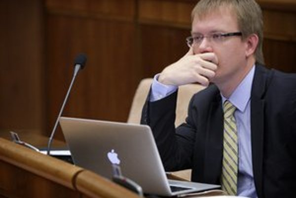 Poslanec za SDKÚ Miroslav Beblavý.