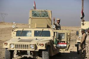 Iracké vládne jednotky.