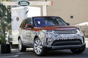 Nový Land Rover Discovery, ktorý sa bude vyrábať pri Nitre.