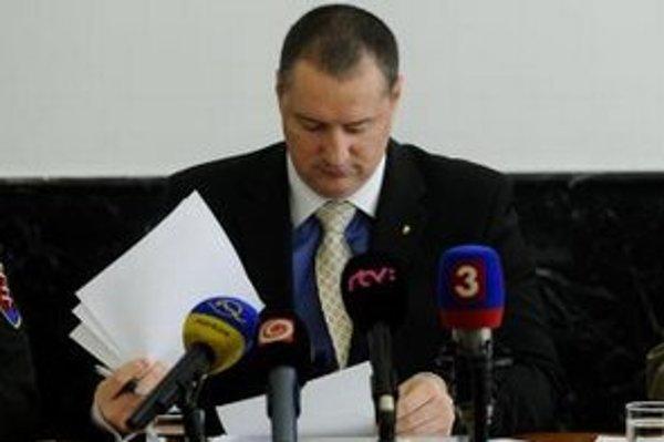 Riaditeľ Odboru osobitného určenia Generálnej prokuratúry Peter Šufliarsky.