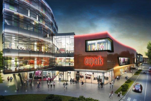 HB Reavis získala stavebné povolenie na výstavbu obchodného centra Aupark v českom meste Hradec Králové.