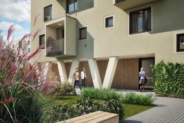 Bytové domy majú povolenia a ich výstavba sa začala v marci, rodinné domy čakajú na stavebné povolenie.