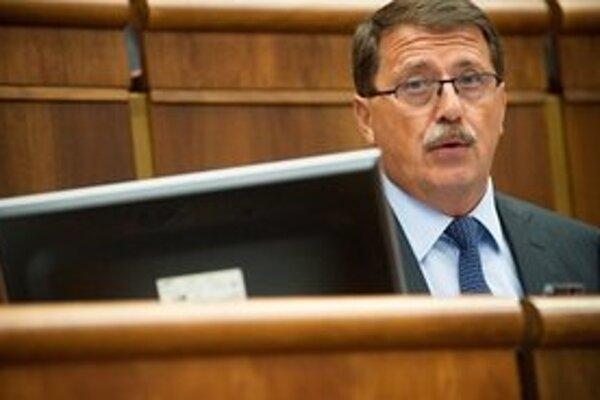 Predseda Národnej rady Pavol Paška.