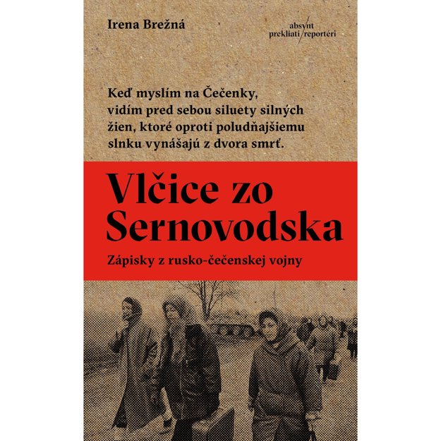 Obal knihy Vlčice zo Sernovodska.