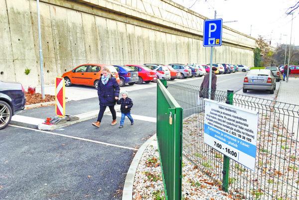 Parkovisko už od minulého týždňa slúži šoférom.