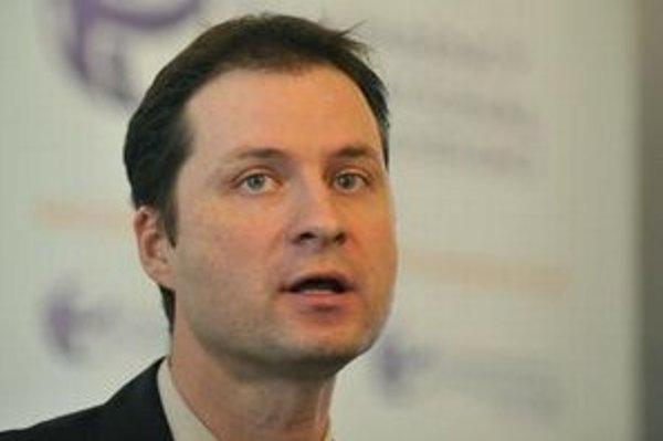 Riaditeľ Transparency International Slovensko Gabriel Šípoš.
