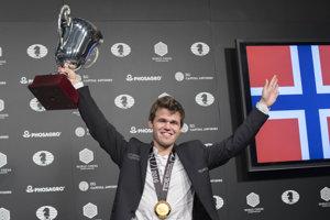 Magnus Carlsen, staronový majster sveta v šachu.