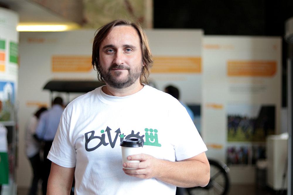 Marián Horanič verí, že projekt Bivio pomôže ľuďom s mentálnym postihnutím nájsť si prácu a udržať ju.