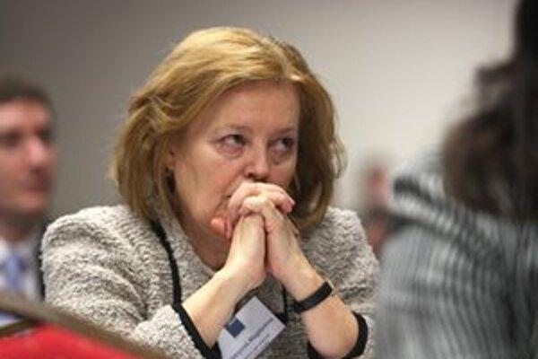 Magdaléna Vášáryová, šéfka petičného výboru SDKÚ.