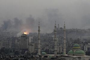 Aleppo - archívna fotografia.