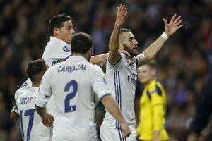 Karim Benzema strelil Dortmundu dva góly. Realu Madrid to nestačilo.