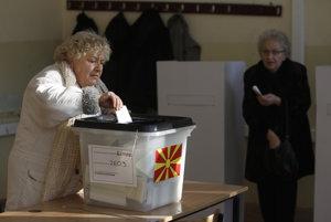 V Macedónsku sa konajú predčasné parlamentné voľby