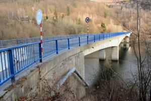 Most cez Ružín.