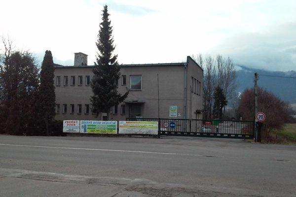 Neďaleko zberného dvora môže vyrásť nová fabrika.