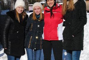 Andrea Rimová s čitateľkami v Tatrách.
