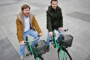 Mirety a Jaroslav Dianovci, projekt Zelené bcykle v Prievidzi