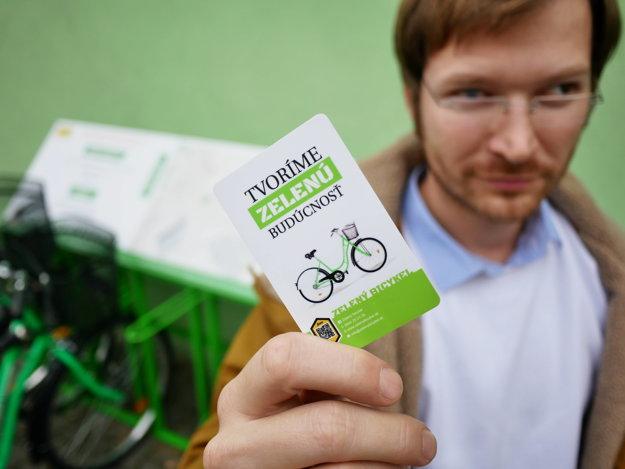 Zelené bicykle v Prievidzi