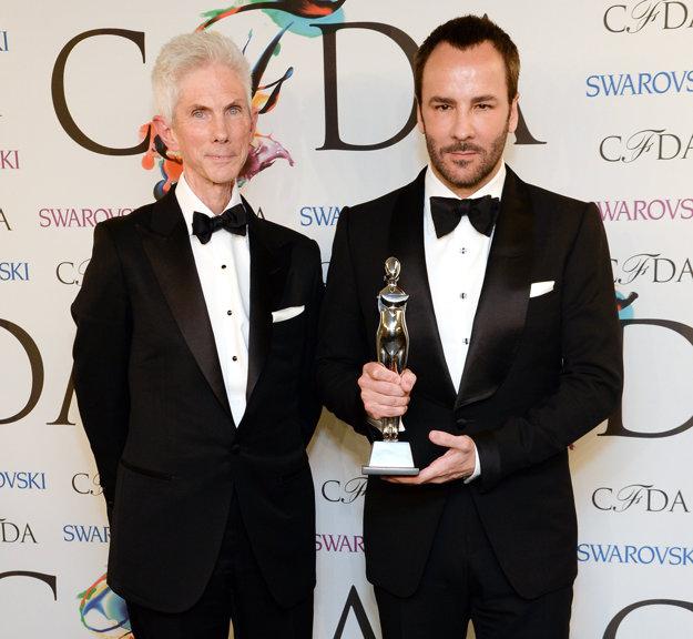 Tom Ford (vpravo) s manželom Richardom Buckleym (vľavo)