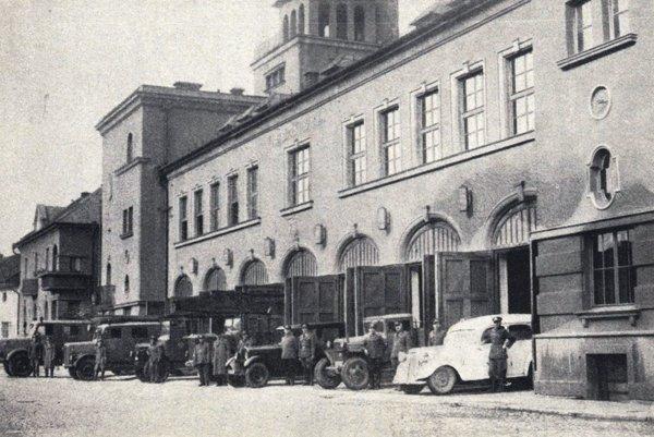 Hasičská stanica v Košiciach z rokov 1927-1928.