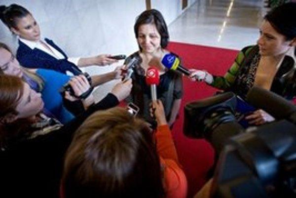 Erika Jurinová, predsedníčka Žilinského samosprávneho kraja.