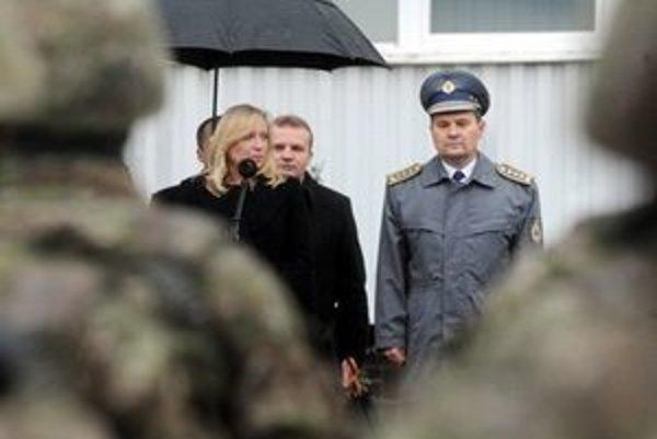 Peter Vojtek počas slávnostného ceremoniálu odovzdania funkcie náčelníka Generálneho štábu.