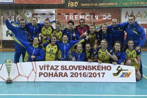 Hádzanárky Michaloviec ovládli Slovenský pohár piaty raz za sebou.