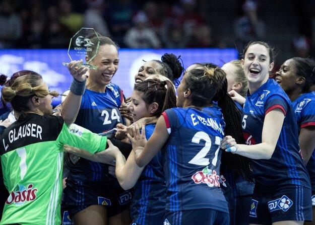 Hádzanárky Francúzska skončili na treťom mieste.