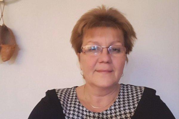 Miroslava Sumková, starostka Malého Čepčína.