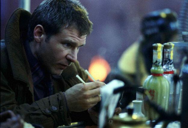 Harrison Ford v pôvodnom filme Ridleyho Scotta.