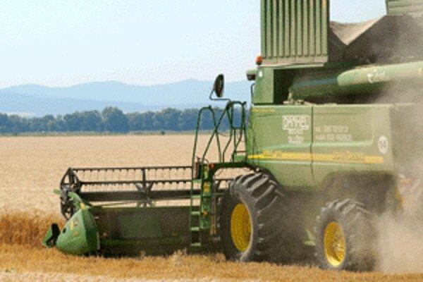 Kosenie obilia ešte pokračuje v severných častiach okresu.