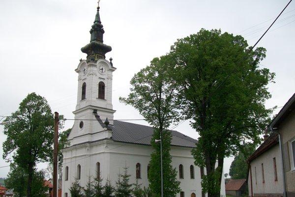 Kostol v Hybiach.