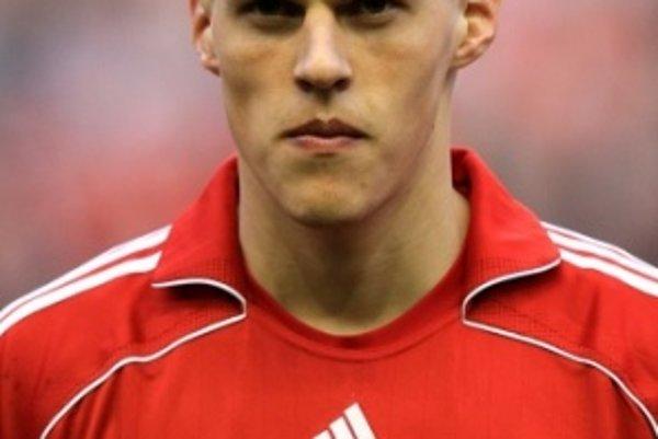 Martin Škrtel v drese Liverpoolu.
