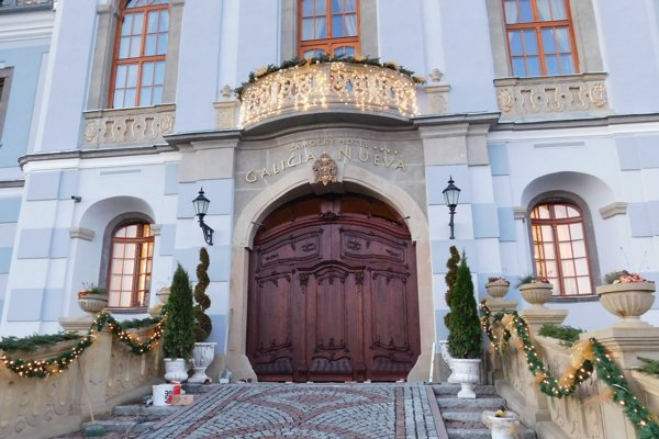 Haličská brána.