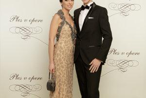Matej Tóth s manželkou