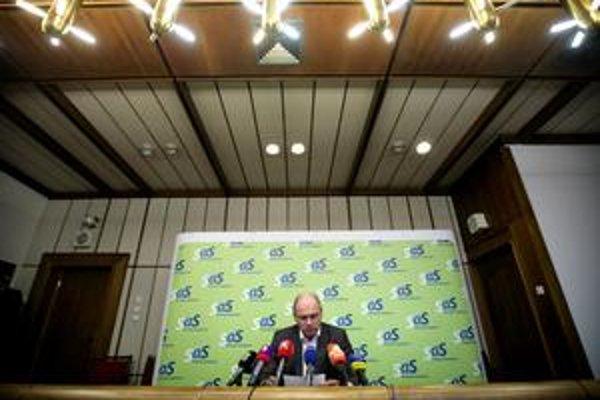 Šéfom Národného bezpečnostného úradu nebude ani František Blanárik, ani Ján Stano. Predseda SaS Richard Sulík (na snímke) hovorí, že má aj ďalších kandidátov.