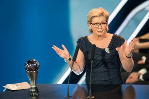 Silvia Neidová, najlepšia trénerka ženského tímu.