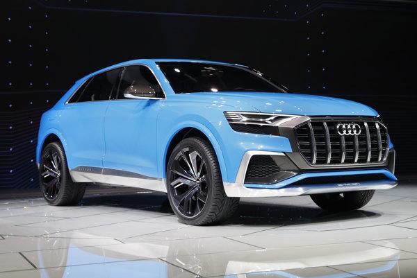 Audi ukázalo Q8 v Detroite.