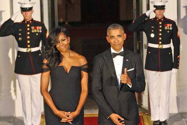 Michelle a Barack Obamovci