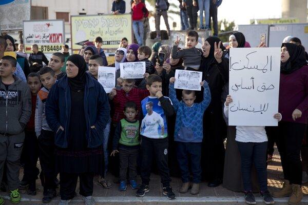 Štrajk zobrali Arabi vážne.