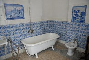 Jedna z najväčších kúpelní pri detskej izbe.